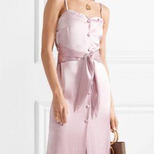 Nanushka soraya dress in lilac